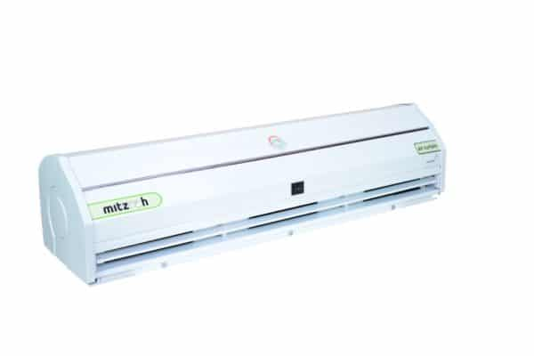 Air Curtain in 3 Speed - Aluminum Body with Stainless Steel (Grade 304) Chassis operated by Remote Control for Commercial Application