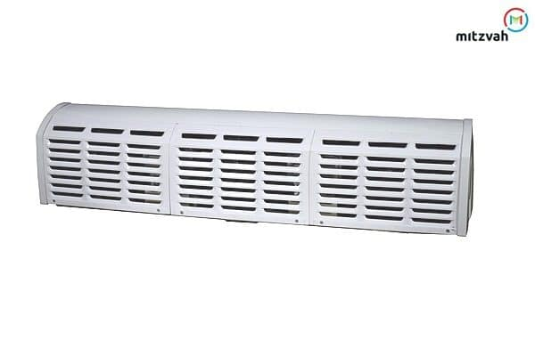 Air Curtain in Dual Speed - Aluminum Body with Powder Coated Chassis for Commercial Application